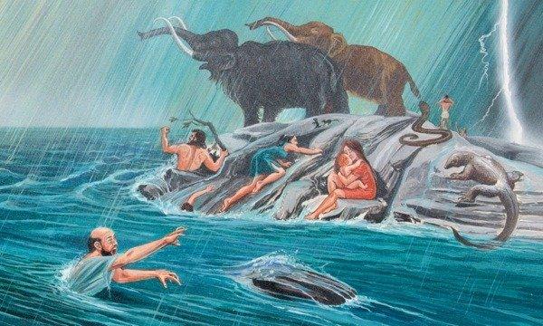 Sintflut Arche Noah